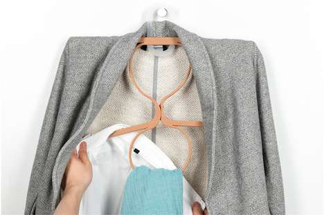 70 Clothing Storage Concepts - From Webbed Wardrobe Furnishings to Minimalist Coat Rack Sculptures