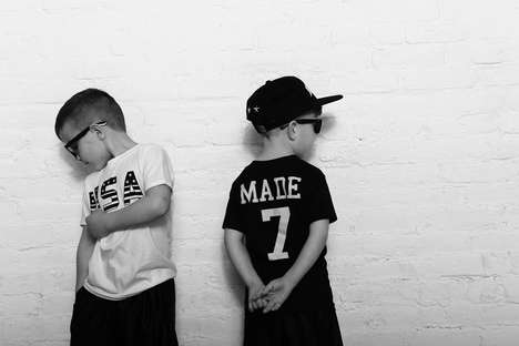 Urban Youngster Lookbooks - The Newest MADE Kids Fashion Line Makes Kids' Clothing Edgy