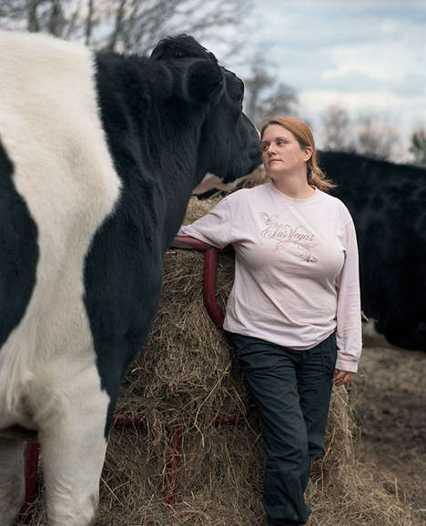 Animal Sanctuary Photos - The 'Sanctuary' Photo Series Depicts Rescued Animals in Vermont