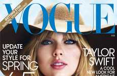 11 Taylor Swift Fashion Features - From Pop Star Footwear Ads to Stylish Songstress Editorials