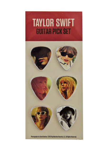 Songstress Guitar Picks - These Picks Commemorate the latest Taylor Swift Shake it Off Music Video