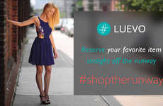 Shop-the-Runway Services - Luevo Lets You Pre-Order the Latest Fashions & Support Emerging Designers
