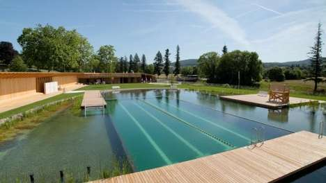 Chemical-Free Swiming Pools - This Chlorine-Free Pool Uses Biological Filters