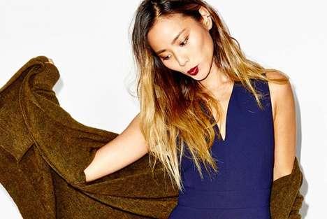 Social Fashion Lookbooks - Aritzia's Fall for Us Instagram Campaign Features Candid Celeb Shots