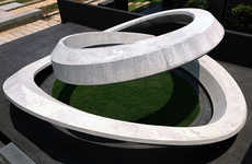 Spiralling Gray Memorials - Hung-Yin Yen Completes 'Journey' for His Grandmother
