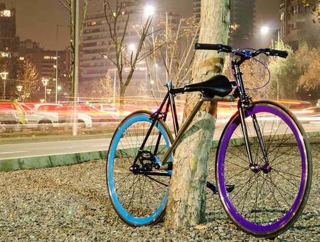 Frame-Attached Bike Locks - The Yerka Project Makes Stealing Bikes Difficult
