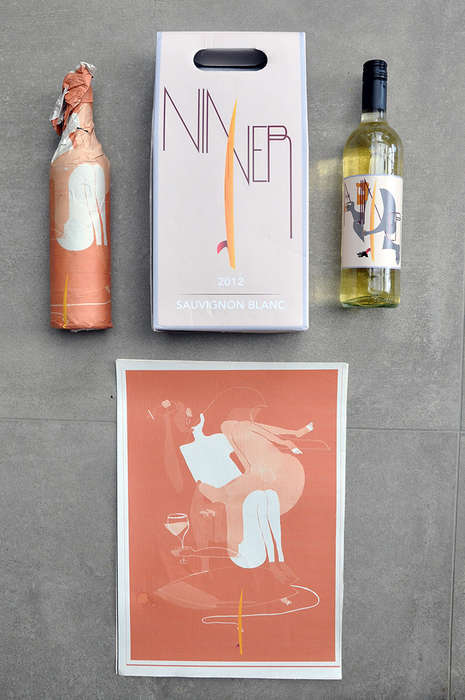 Festival-Ready Wine Packaging - Niner Wine is Set to Take to the Party in Style