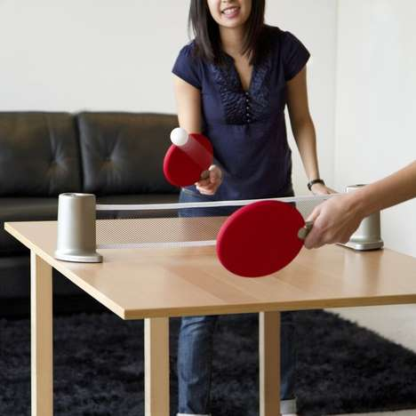 Portable Ping Pong Tables - A Good Round of Table-Tennis is at Your Fingertips with Pongo