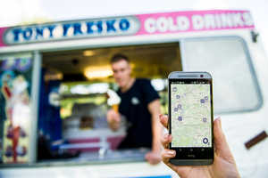 O2 Turns an Ice Cream Truck Business Hi-Tech with a Mobile App & More