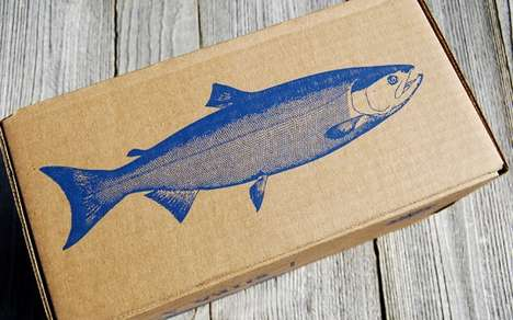 80 Paper Packaging Examples - From Artful Seafood Branding to Cardboard Chip Containers