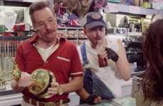 Pawnbroker Spoof Videos - This Bryan Cranston and Aaron Paul Emmy Promo Captures More Antics