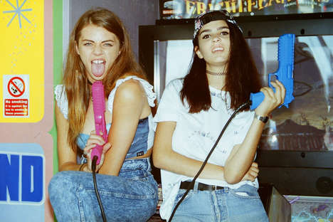Adventurous Friendship Lookbooks - The Olive and Frank Lookbook Celebrates Youth