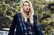 Mismatched Grunge Editorials