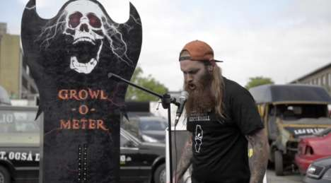 Scream-Measuring Machines - The Growl-O-Meter Puts Your Heavy Metal Growls to the Test