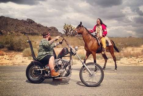 Epic Biker Rap Films - Action Bronson's Easy Rider Video is Cinematic and Action-Packed