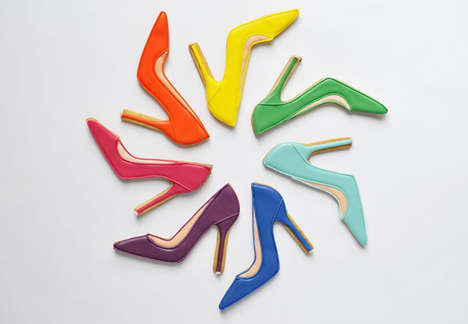Cookie Footwear Collections - The Edible Jimmy Choo Collection Includes Shoe-Shaped Cookies