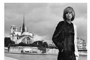 The Vogue Pairs Edie A Paris Photoshoot Recreates Past Looks