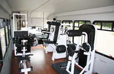 Shuttle Bus Workouts - The Mobile Gym Brings the Workout to You