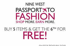 Fashionable Passport Promotions - Nine West's Passport to Fashion Loyalty Program is Great for Deals