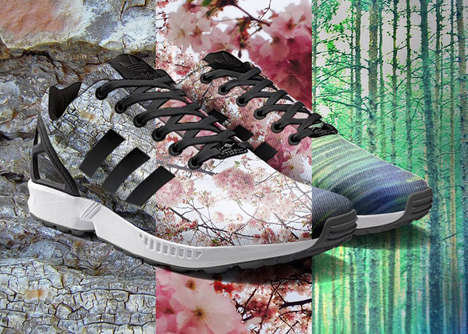 Customizable Shoe Apps - The Adidas Mi Zx Flux App Captures Photos to Put on Kicks