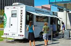 Collegiate Coffee Trucks - The New Starbucks Food Trucks Will Follow Students Around on Campus