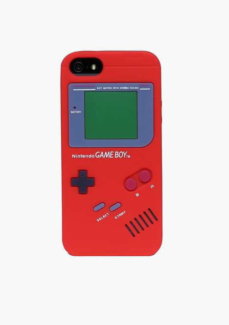 Gamer-Approved Tech Accessories - The Gameboy iPhone 5 Case from Celebrates the Retro Device