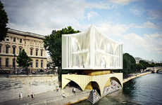Palace-Like Champagne Bars - Pedro Manuel Araujo and Michael Oliveira Win the AC-CA Competition