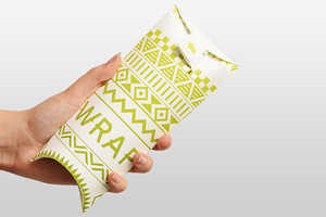 The Pull Wrap Makes it Easier to Eat on-the-Go