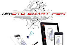 Versatile Electronic Pens - The Mimoto SmartPen Allows Consumers to Write the Old-Fashioned Way