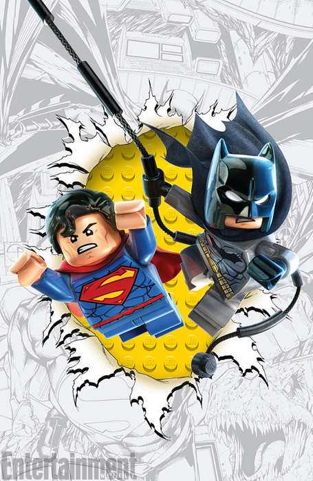 Superhero LEGO Covers - These LEGO Variant Covers are Coming Out in November