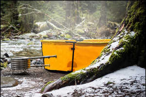 Have a Soak in the Nomad Collapsible Hot Tub
