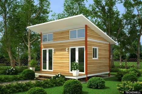 Revolutionary Micro-Home Initiatives - The Miniature Housing Project of Portland is Making Waves