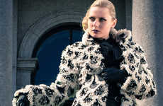 Multi-Use Faux Furs - Multi-functional Luxury by Heli Miikkulainen-Gilbert can be Worn 7 Ways