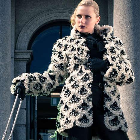 Multi-Use Faux Furs - Multi-functional Luxury by Heli Miikkulainen-Gilbert can be Worn 7 Ways