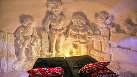 Icy Igloo Inns - This Winter World-Creating Snow Hotel is Located in Kirkenes, Norway