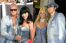 13 Outrageous VMA Outfits - From All-Leather Mini Dress Ensembles to Masculine Jegging Garments