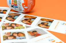 Surprising Photo Booths - Kinder Surprise's Chocolate Promotion Captures Unexpected Delight