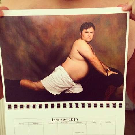 Hilarious Pop Culture Calendars - This Comedic Calendar Will Guarantee Laughter