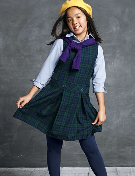 Collegiate Kid Catalogs - Lands' End's School Uniforms Lookbook Celebrates Academic Style