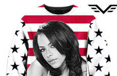 Songstress Homage Apparel - Etsy's Trademarkz Shop Boasts Looks that Celebrate Late Singer Aaliyah