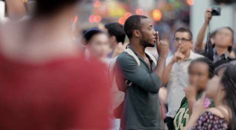 Social Silencing Experiments - Heineken's Quiet Please Experiment Asks Loud New Yorkers to Hush