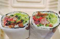 Scrumptious Sushi Burritos - The Geisha's Kiss Sushi Burrito Combines Both Asian and Mexican Flavors