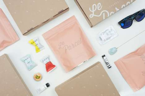 Period Goodie Box Redesigns - Le Parcel Offers Monthly Gift Boxes to Make Aunt Flo's Visit Better