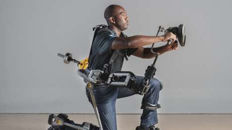 Strength-Giving Exoskeletons - The Fortis Exoskeleton Allows Wearers to Easily Lift Heavy Objects