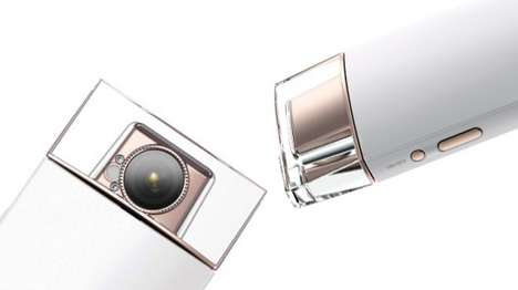 Perfume Bottle-Shaped Cameras - The Sony KW1 Selfie Camera is Designed to Look Like a Perfume Bottle