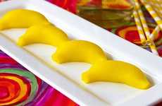 These Festive Banana-Flavored Shots are Made from Gelatin