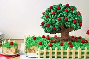 This Apple Cake Looks and Tastes Like a Field of Apple Trees