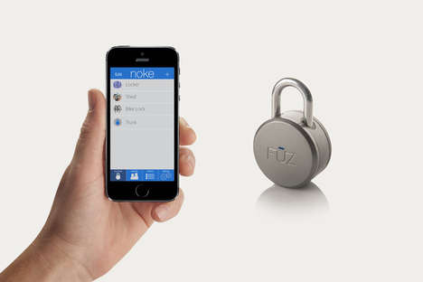 Phone-Controlled Padlocks - Noke is a Bluetooth Padlock That Uses a Smartphone to Unlock