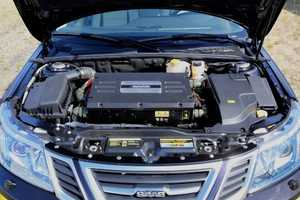 The 9-3 Electric Vehicle is an Electric Version of the Saab 9-3 Aero Sedan