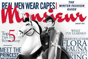 You'll Wish These Disney Prince Magazine Covers Were Real